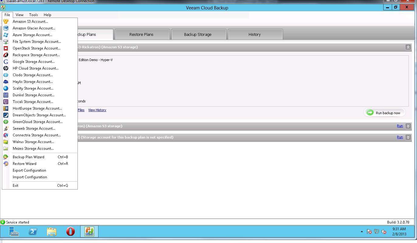 Release Veeam Backup Amp Replication Cloud Edition Eric
