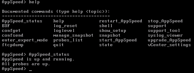 AppSpeed Console