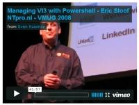 Eric Sloof presenting