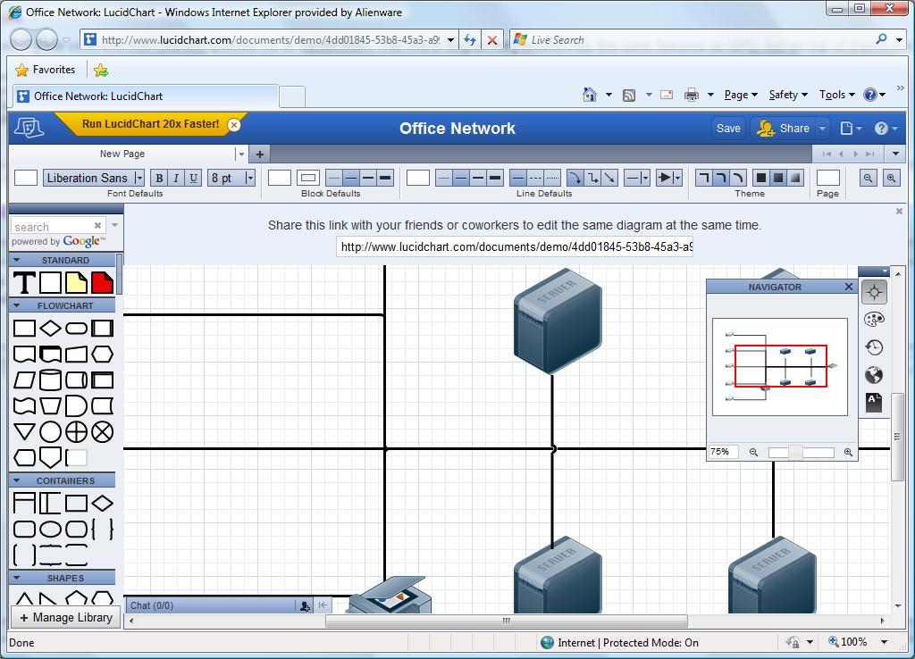 Visio in the Cloud? - Online Diagram Software - Eric Sloof - NTPRO.NL