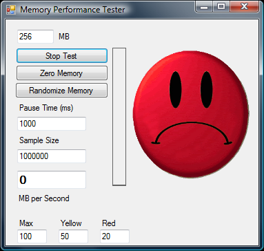 Memory Performance Tester