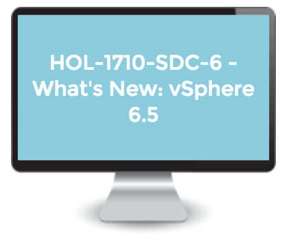 New Hands-on Labs Released - Introduction to vRealize