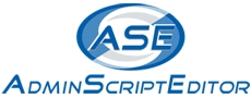 Admin Script Editor (ASE)