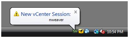 vSphere Session Monitor 1.0